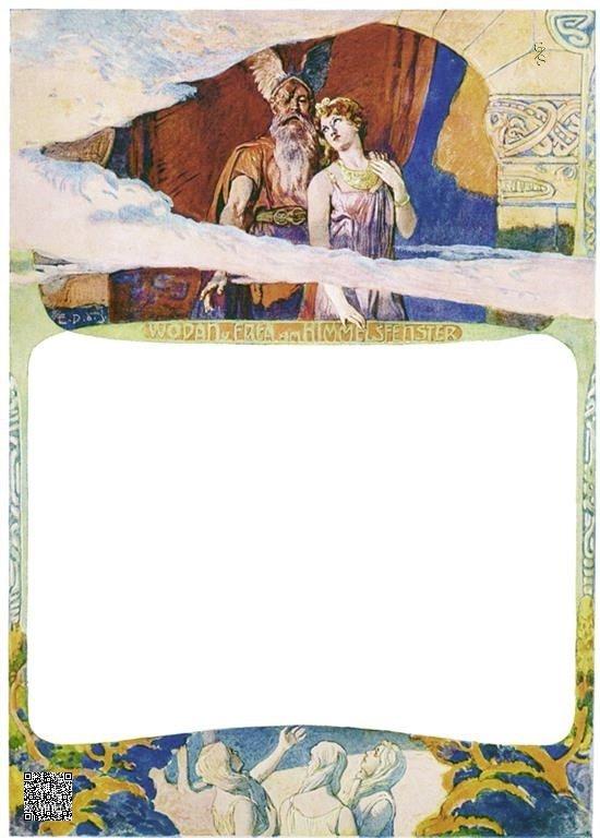 04-Wodan en Freyja bij het Hemelvenster