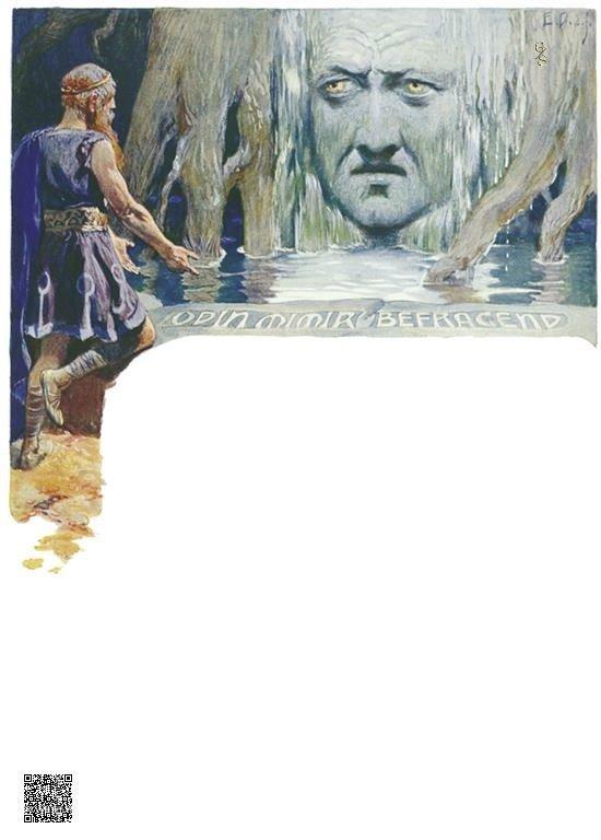 10-Odin vraagt Mimir om raad