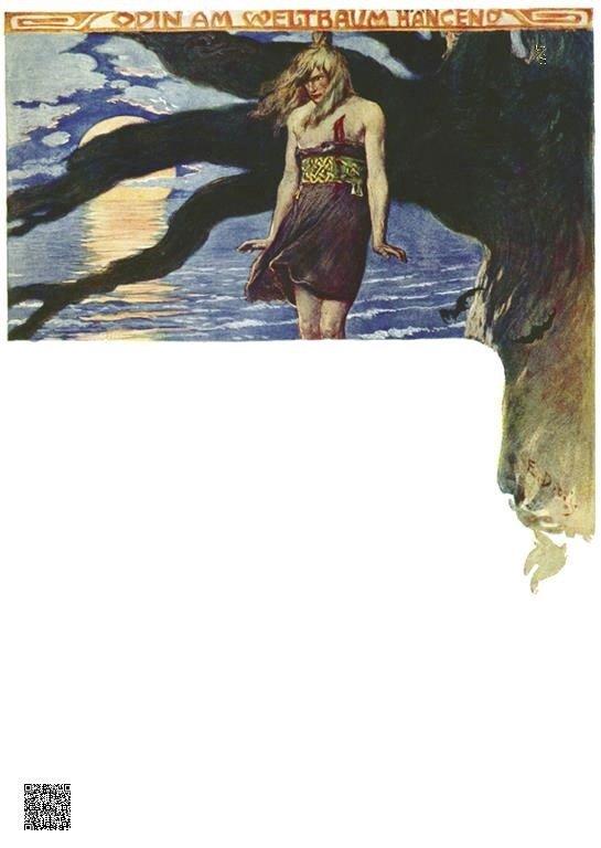 11-Odin hangt aan de wereldboom
