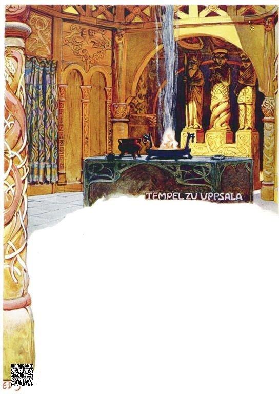 26-Tempel zu Uppsala
