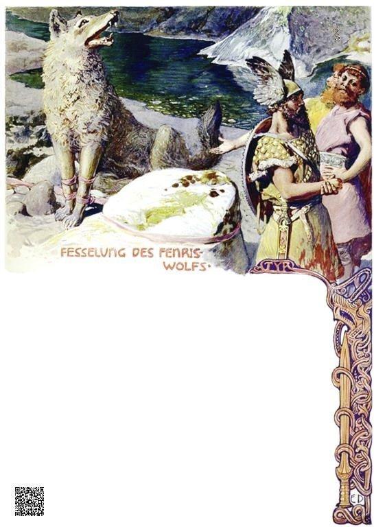27-De Fenris wolf wordt geboeid