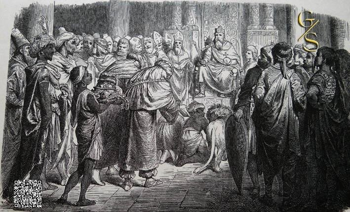Am Hofe Karl des Großen