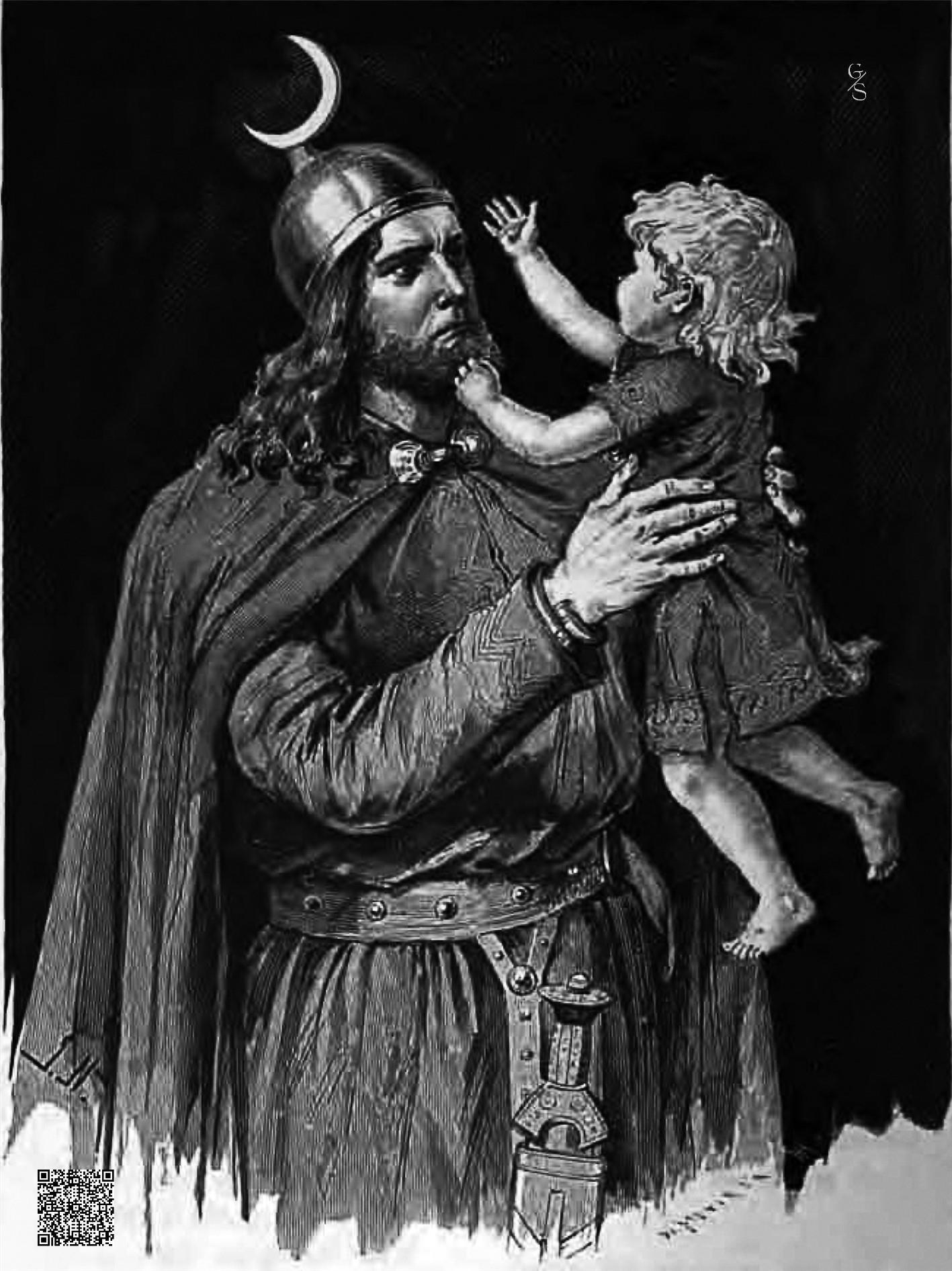 Högni Und Sein Sohn-DE