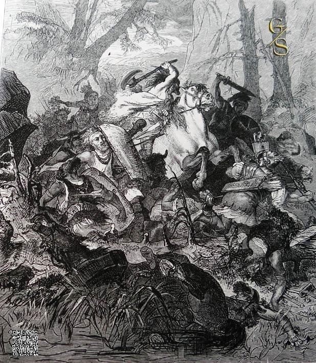 Kampf gegen die Römer