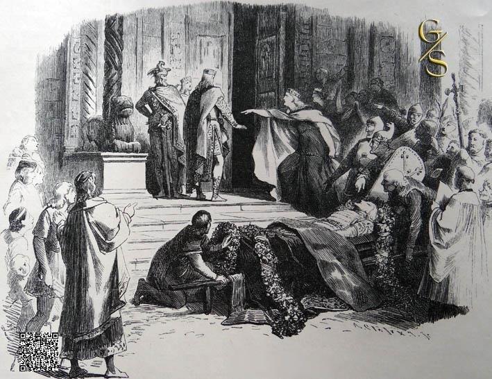 Kriemhilde eist het bloedrecht