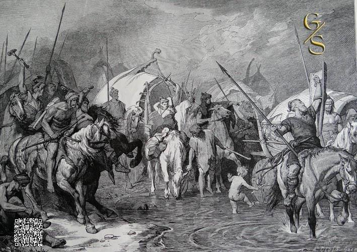 Migrating Germanics