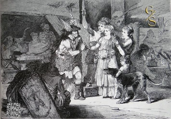 Oudgermaanse bruiloft