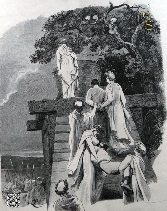 Priesteressen der Cimbren