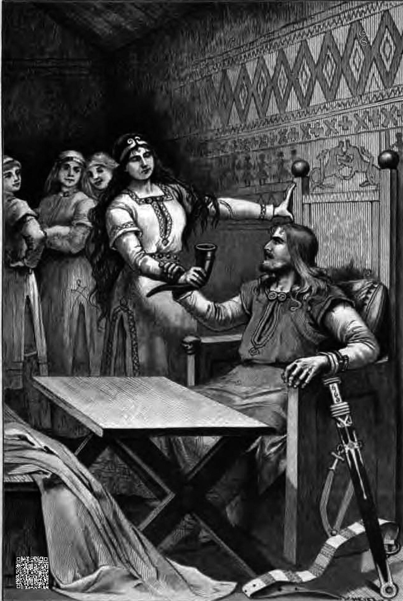 Sigurd Mit Brynhild-DE