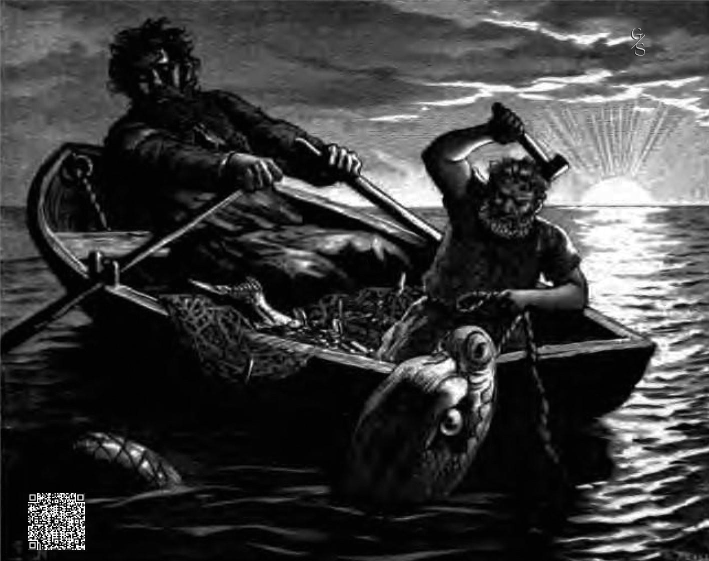 Thor En Hymir Aan Het Vissen-NL
