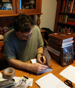 Read more about the article Autographing and packing